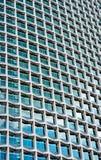 Una costruzione di vetro del grattacielo Immagine Stock