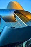 Una costruzione moderna del metallo e del vetro Immagini Stock