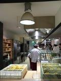 Una cucina del restaurant Immagini Stock