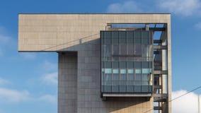 Una culminación interesante del edificio foto de archivo libre de regalías