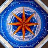 In una cupola di una chiesa Immagine Stock Libera da Diritti