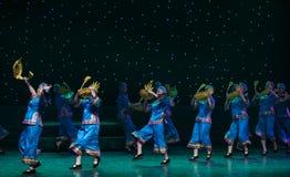 Una danza popular cesta-Tórtola-china formada ganso fotos de archivo libres de regalías