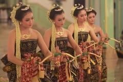 Una danza tradicional Imagen de archivo libre de regalías