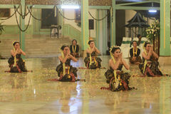 Una danza tradicional Foto de archivo libre de regalías