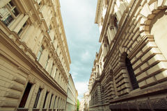 Una de las calles viejas Fotos de archivo