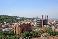 Una de las opiniones de Barcelona Imagen de archivo libre de regalías