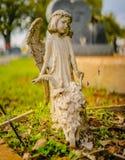 Una decoración grave o una estatua grave imagen de archivo