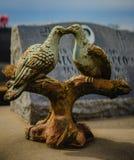Una decoración grave o una estatua grave imagen de archivo libre de regalías