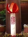 Una decorazione per il nuovo anno cinese Fotografie Stock