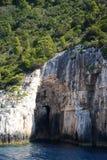Una delle caverne blu fotografie stock libere da diritti