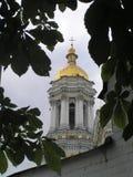 Una delle cupole Sabor a Kiev-Pechersk Lavra Immagine Stock Libera da Diritti