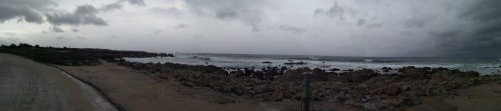 Una delle spiagge su 17 miglia di azionamento immagini stock libere da diritti