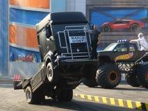Una demostración fabulosa del camión Fotos de archivo