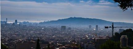 Una descripción de Barcelona Foto de archivo libre de regalías