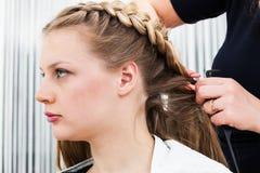 Una designazione dei capelli Immagini Stock Libere da Diritti