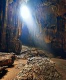 Una di caverne più belle del Borneo Gomantong.Malaysia fotografia stock libera da diritti