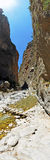 Gola di Samaria Fotografie Stock