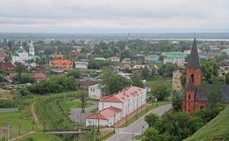 Una di molte chiese in Tobol'sk fotografia stock
