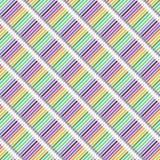 Una diagonale multicolore disegna a matita il modello senza cuciture Immagine Stock