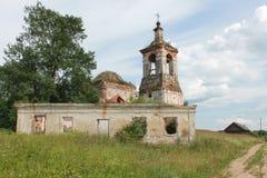 Una diciassettesima chiesa Fotografie Stock