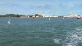 Una diversa Venecia ilustración del vector