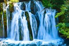 Una do rio da cachoeira imagens de stock