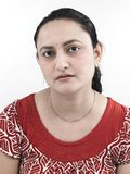Una donna asiatica fatta maturare fotografie stock libere da diritti