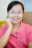 Una donna cinese Fotografia Stock