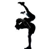 Una donna dell'uomo delle coppie che esercita forma fisica di allenamento Fotografie Stock