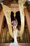 Una donna elegante ChiangMai Tailandia del nord di Lanna Immagini Stock