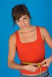 Una donna felice Fotografia Stock