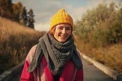 Una donna mora e allegra fotografie stock libere da diritti