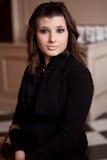 Una donna sorpresa Fotografie Stock Libere da Diritti