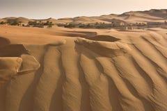 Una duna di sabbia grande Fotografie Stock Libere da Diritti