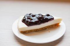 Una empanada del queso del arándano Imagen de archivo libre de regalías