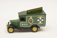 Una escala muere modelo del molde de Ford Van en la librea de la vieja fuerza de policía policial real de Ulster Fotografía de archivo libre de regalías