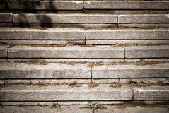 Una escalera de piedra en ciudad Fotografía de archivo