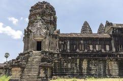 Una escalera en Angkor Wat Imágenes de archivo libres de regalías