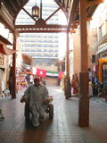 Una escena de Dubai foto de archivo libre de regalías