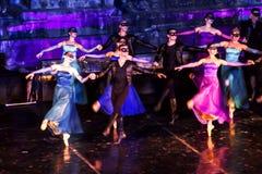 Una escena de Romeo And Juliet Ballet imagen de archivo libre de regalías
