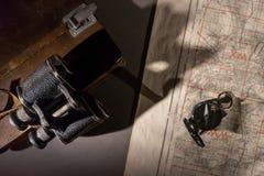 Una escena del comando de la batalla fotografía de archivo libre de regalías