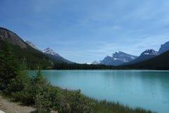 Una escena hermosa del parque nacional de banff fotos de archivo