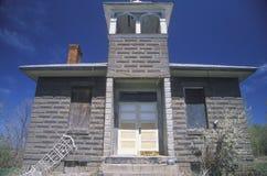 Una escuela del ladrillo del uno-cuarto, Imagenes de archivo