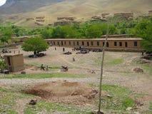 Una escuela del rurai Imagen de archivo libre de regalías