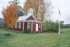 Una escuela histórica del sitio fotos de archivo