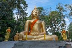 Una escultura de un Buda Fotos de archivo libres de regalías