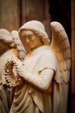 Una escultura del ángel Foto de archivo