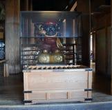 Una escultura en el templo de Kiyomizu, Kyoto Imagen de archivo