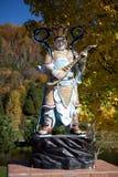 Una escultura en monasterio vietnamita Imagenes de archivo