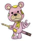 una espada del oso ilustración del vector